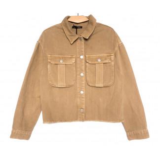 9020-1 Saint Wish куртка джинсовая женская хаки весенняя коттоновая (ХS-XL, 5 ед.) Saint Wish: артикул 1104871