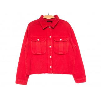 9020-4 Saint Wish куртка джинсовая женская красная весенняя коттоновая (ХS-XL, 5 ед.) Saint Wish: артикул 1104872