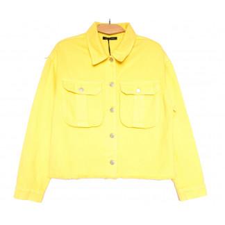 9020-5 Saint Wish куртка джинсовая женская желтая весенняя коттоновая (ХS-XL, 5 ед.) Saint Wish: артикул 1104878