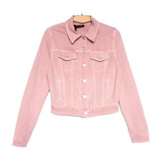 9035-3 Saint Wish куртка джинсовая женская розовая весенняя стрейчевая (ХS-XL, 5 ед.) Saint Wish: артикул 1104881