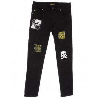 1047 Charj джинсы на мальчика черные весенние стрейчевые (20-27,7-14 лет, 8 ед.) Charj: артикул 1104941