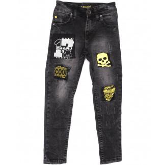 1046 Charj джинсы на мальчика серые весенние стрейчевые (20-27,7-14 лет, 8 ед.) Charj: артикул 1104942