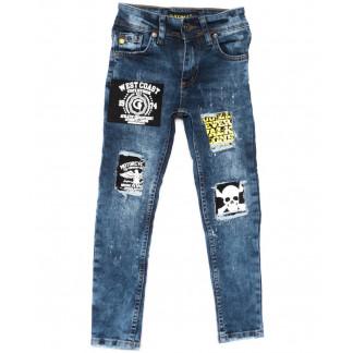 1022-1 Charj джинсы на мальчика синие весенние стрейчевые (20-27,7-14 лет, 8 ед.) Charj: артикул 1104944