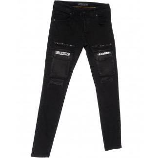 5740 Siyah Redman джинсы мужские стильные черные весенние стрейчевые (29-34, 8 ед.) REDMAN: артикул 1104918