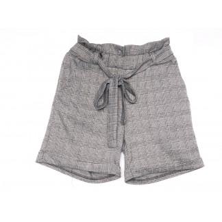 0304-44 серые Exclusive шорты женские в клетку (42-48, 4 ед.) Exclusive: артикул 1104979
