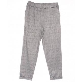 0257-50 серые Exclusive брюки женские в клетку весенние стрейчевые (50-54, 3 ед.) Exclusive: артикул 1104952
