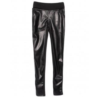 0618-42 Exclusive лосины кожаные черные весенние стрейчевые (42-46,норма, 3 ед.) Exclusive: артикул 1104972
