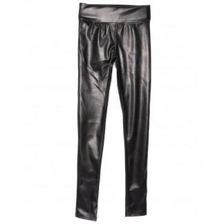 0607-42 Exclusive лосины кожаные черные весенние стрейчевые (42-46,норма, 3 ед.) Exclusive: артикул 1104973