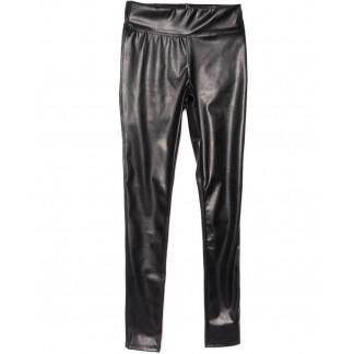0619-44 Exclusive лосины кожаные черные весенние стрейчевые (42-46,норма, 3 ед.) Exclusive: артикул 1104975
