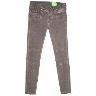 2015 Х джинсы женские стильные серые весенние стрейчевые (34-42,евро, 6 ед.) X: артикул 1105069