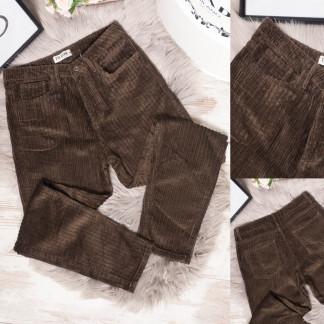 0970 Bark джинсы женские коричневые весенние вельветовые (26-30, 7 ед.) Bark: артикул 1105382