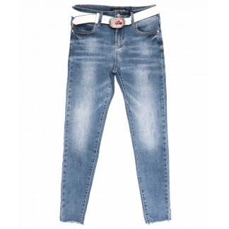 6314 Dimarkis Day джинсы женские зауженные синие весенние стрейчевые (25-30 , 6 ед.) Dimarkis Day: артикул 1105239