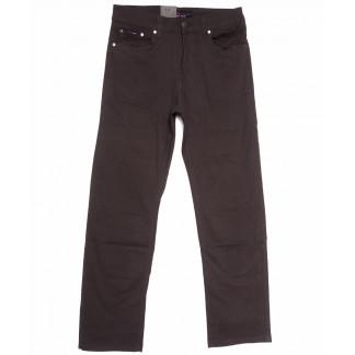 3032-В LS джинсы мужские полубатальные коричневые весенние стрейчевые (32-40, 8 ед.) LS: артикул 1105274