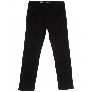3026-D LS джинсы мужские батальные черные весенние стрейчевые (34-42, 8 ед.) LS: артикул 1105276