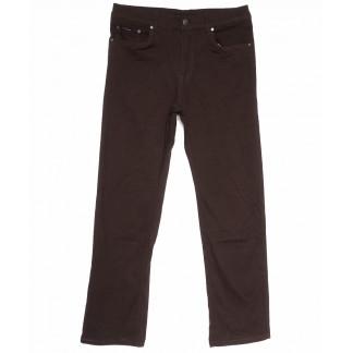 3035-D LS джинсы мужские батальные коричневые весенние стрейчевые (34-44, 8 ед.) LS: артикул 1105277
