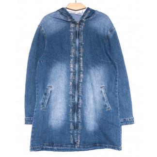 8063 Zijinyan куртка джинсовая женская весенняя стрейчевая (XL-6XL, 6 ед.) Zijinyan: артикул 1105347