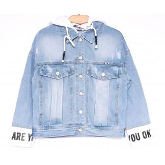 9937 Zijinyan куртка джинсовая женская синяя весенняя коттоновая (S-XXXL, 6 ед.) Zijinyan: артикул 1105348