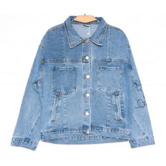 8063 Zijinyan куртка джинсовая женская синяя весенняя коттоновая (S-XL, 6 ед.) Zijinyan: артикул 1105360
