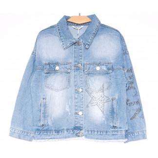 9970 Zijinyan куртка джинсовая женская синяя весенняя коттоновая (S-XXXL, 6 ед.) Zijinyan: артикул 1105349
