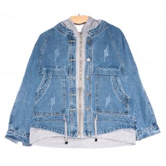8036 Zijinyan куртка джинсовая женская синяя весенняя коттоновая (S-XL, 6 ед.) Zijinyan: артикул 1105363