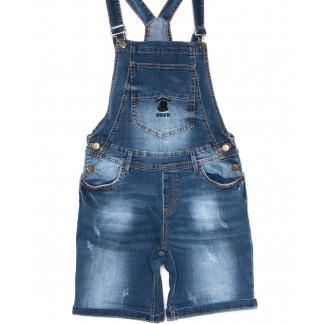 6617-2 Y Relucky комбинезон-шорты джинсовый женский летний стрейчевый (25-30, 6 ед.) Relucky: артикул 1105395
