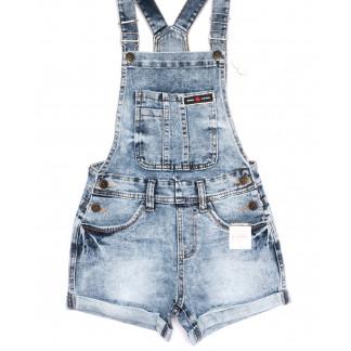 6610-2 Y Relucky комбинезон-шорты джинсовый женский летний стрейчевый (25-30, 6 ед.) Relucky: артикул 1105397
