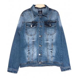 2231-3 R Relucky куртка джинсовая мужская весенняя стрейчевая (S-3XL, 6 ед.) Relucky: артикул 1105399