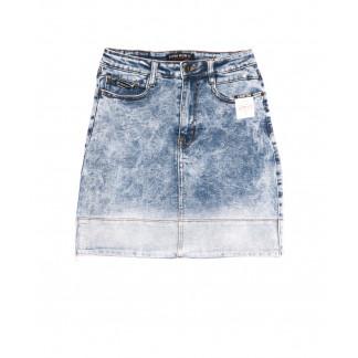 9910-1 V Relucky юбка джинсовая синяя весенняя стрейчевая (25-30, 6 ед.) Relucky: артикул 1105400