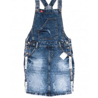 3303-5 Y Relucky сарафан джинсовый синий весенний котоновый (25-30, 6 ед.) Relucky: артикул 1105408