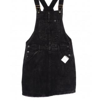 3317-5 Y Relucky сарафан джинсовый темно-серый весенний котоновый (25-30, 6 ед.) Relucky: артикул 1105413