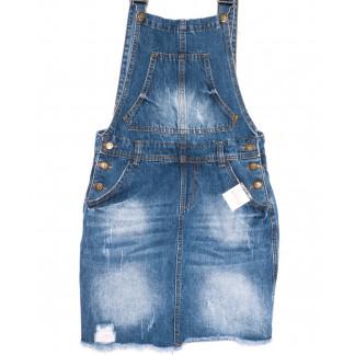 3309-5 Y Relucky сарафан джинсовый синий весенний котоновый (25-30, 6 ед.) Relucky: артикул 1105414