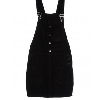 3315-5 Y Relucky сарафан джинсовый черный весенний котоновый (25-30, 6 ед.) Relucky: артикул 1105419