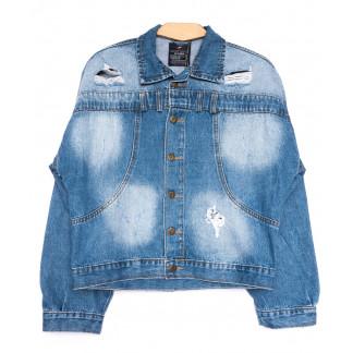 2216-1 D Relucky куртка джинсовая женская весенняя котоновая (S-XL, 6 ед.) Relucky: артикул 1105423
