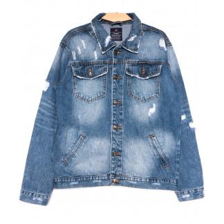 2236-3 A Relucky куртка джинсовая мужская весенняя стрейчевая (S-3XL, 6 ед.) Relucky: артикул 1105429
