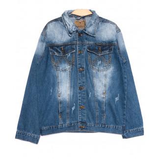2239-3 R Relucky куртка джинсовая мужская весенняя стрейчевая (S-3XL, 6 ед.) Relucky: артикул 1105427