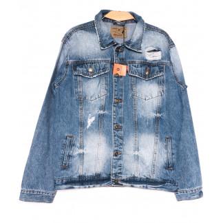 2237-3 R Relucky куртка джинсовая мужская весенняя стрейчевая (S-3XL, 6 ед.) Relucky: артикул 1105428