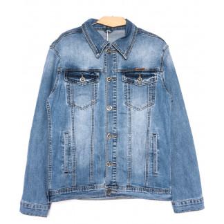 0325 Longli куртка джинсовая мужская синяя весенняя стрейчевая (S-2XL, 5 ед.) Longli: артикул 1105433