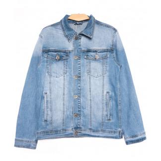 0327 Longli куртка джинсовая мужская синяя весенняя стрейчевая (S-2XL, 5 ед.) Longli: артикул 1105437