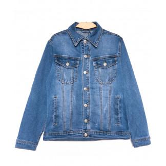 0359 Longli куртка джинсовая мужская синяя весенняя стрейчевая (S-2XL, 5 ед.) Longli: артикул 1105438