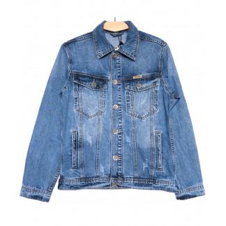 0352 Longli куртка джинсовая мужская синяя весенняя стрейчевая (S-2XL, 5 ед.) Longli: артикул 1105439