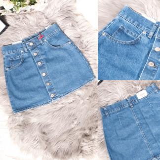 2404 Xray юбка джинсовая синяя весенняя коттоновая (34-40,евро, 6 ед.) XRAY: артикул 1105484