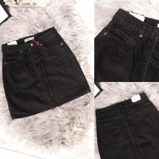 2588 Xray юбка джинсовая серая весенняя коттоновая (34-40,евро, 6 ед.) XRAY: артикул 1105486