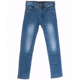 6004 Pobeda джинсы мужские синие весенние стрейчевые (29-38, 8 ед.) Pobeda: артикул 1105472