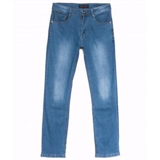 6006 Pobeda джинсы мужские синие весенние стрейчевые (30-40, 8 ед.) Pobeda: артикул 1105474