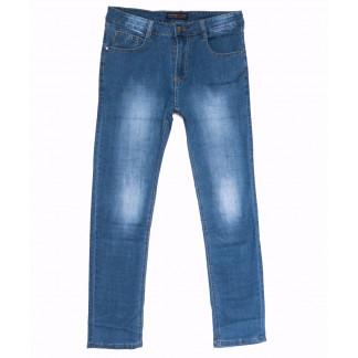 6010 Pobeda джинсы мужские полубатальные синие весенние стрейчевые (32-42, 8 ед.) Pobeda: артикул 1105475