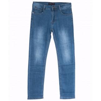 6008 Pobeda джинсы мужские полубатальные синие весенние стрейчевые (32-40, 8 ед.) Pobeda: артикул 1105476