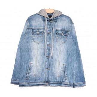 3036 Dimarkis Day куртка джинсовая женская синяя весенняя стрейчевая (S-ХXL, 4 ед.) Dimarkis Day: артикул 1105502