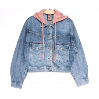 3077 Dimarkis Day куртка джинсовая женская синяя весенняя коттоновая (S-ХL, 5 ед.) Dimarkis Day: артикул 1105510
