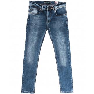 6658 Blue Nil джинсы мужские с царапками синие весенние стрейчевые (29-36, 8 ед.) Blue Nil: артикул 1105515