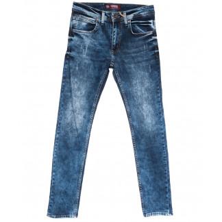6380 Corcix джинсы мужские с царапками синие весенние стрейчевые (29-36, 8 ед.) Corcix: артикул 1105516